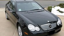 2003 Mercedes C230K Kompressor Coupe