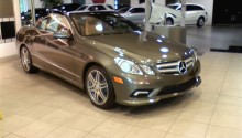2011 Mercedes E550 Cabriolet Launch Edition