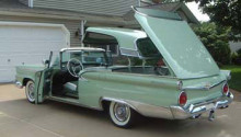 1959 Ford Fairlane 500 Galaxie Skyliner Retractable